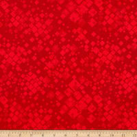 Benartex Cat-I-tude 2 PurrFect Together Squarely There Red