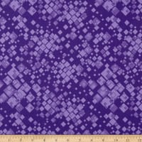 Benartex Cat-I-tude 2 PurrFect Together Squarely There Purple