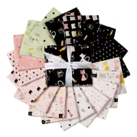 Riley Blake Meow And Forever Fat Quarter Bundle, 18 Pcs
