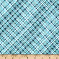 Off Shore 2 Plaid Teal