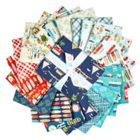 Riley Blake Off Shore 2 Fat Quarter Bundle 21 Pcs