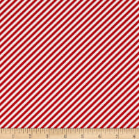 Simple Goodness Bias Stripes Red