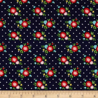 Simple Goodness Floral Navy
