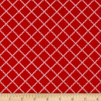 Simple Goodness Ruffle Plaid Red