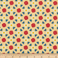 Penny Rose Gretel Lattice Yellow