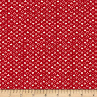 Penny Rose Gretel Heart Red