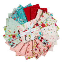 Riley Blake Little Red In The Woods Fat Quarter Bundle, 21 Pcs