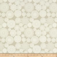 Riley Blake Vintage Keepsakes Doily Grey