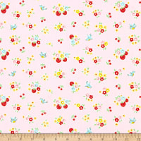 Penny Rose Bluebirds On Roses Floral Pink