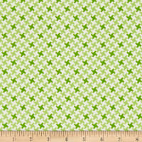 Farm Girl Vintage Houndstooth Green