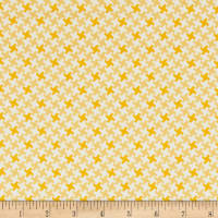 Riley Blake Farm Girl Vintage Houndstooth Honey