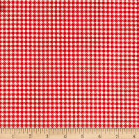 Farm Girl Vintage Gingham Red