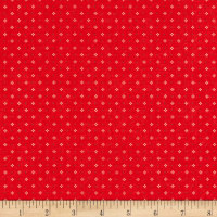 Farm Girl Vintage Calico Red