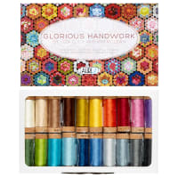 Aurifil Glorious Handwork by Liza Lucy & Kim McLean - 20 spools 80wt