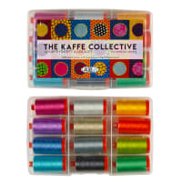 Aurifil The Kaffe Collective Collection by Kaffe Fassett & Liza Lucy-12 spools 50wt