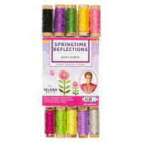 Aurifil Springtime Reflections Collection by Jackie Kunkel-10 spools