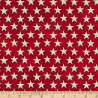 Amerian Honor Stars Red