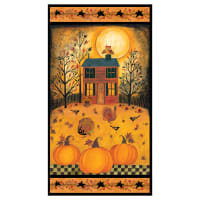 "Give Thanks II 24"" Panel Orange"