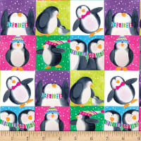 By Golly Get Jolly! Penguins Green