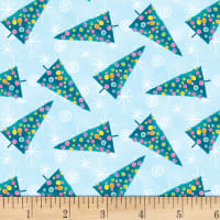 By Golly Get Jolly! Tree Toss Light Blue