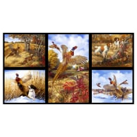 "Pheasant Run Panel 24"" Black"