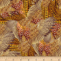 Pheasant Run Feathers Tan