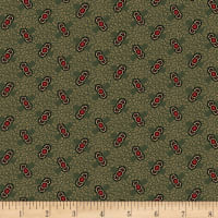 Pam Buda Circa Prairie Basics Fancy Bow Green