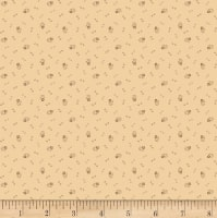 Pam Buda Circa Prairie Basics Double Dot Flowers Tan