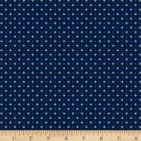 Temecula Treasures Diamond & Dot  Navy