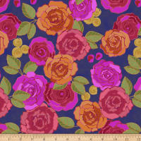 Let It Grow Floral Navy