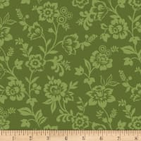 Let It Grow Trailing Floral Green