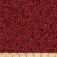 Maple Lake Flannels Wild Perennials Burgandy