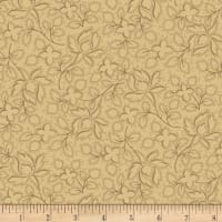 Maple Lake Flannels Wild Perennials Tan