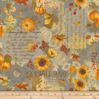 Songbook Harvest Bouquet Gray