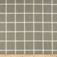 Premier Prints Modern Farmhouse Abbot Windowpane Slub Canvas Ecru