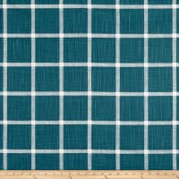 Premier Prints Modern Farmhouse Abbot Windowpane Slub Canvas Plantation Blue