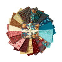 Clothworks Around The Roses Fat Quarter Pack 20 Pcs