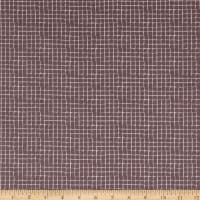 Clothworks Secret Garden Geo Dark Taupe
