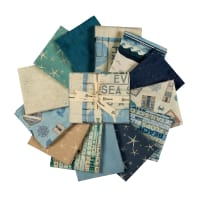 Clothworks Beach House Fat Quarter Pack, 17 pcs.