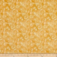 Clothworks Poppy Poetry Tonal Gold