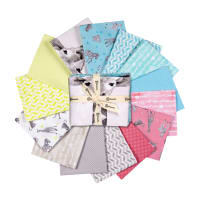Clothworks Baby Safari Fat Quarter Bundle 13 pcs Multi
