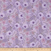 Clothworks Cassandra Toss Light Purple