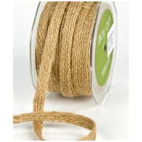 "1/2"" Woven Burlap Braid Ribbon, Natural (roll,54 yards)"