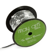 "1/8"" Silver Sequin String (50 Yard Spool)"