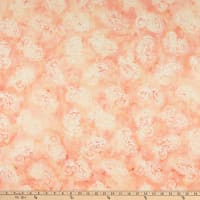 Anthology Fabrics Margot Lux Batik W/ A Large Hat Paisley Blush