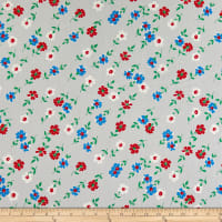 Windham Fabrics Bounce Floral Grey