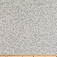 Windham Fabrics Bounce Tossed Alphabet White