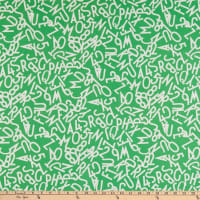 Windham Fabrics Bounce Tossed Alphabet Green