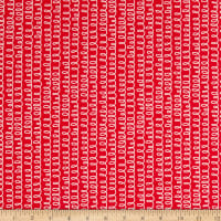 Windham Fabrics Bounce Squigle Red