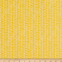 Windham Fabrics Bounce Squigle Yellow